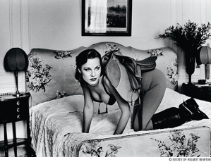 Helmut Newton - Women in Saddle