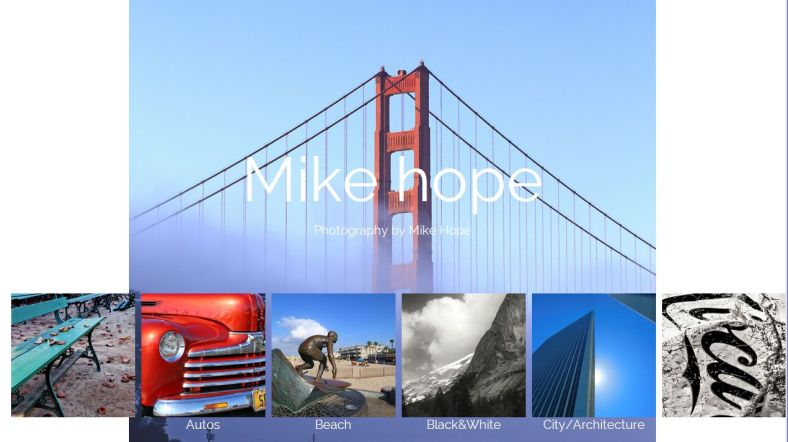 Mike Hope Photo Site