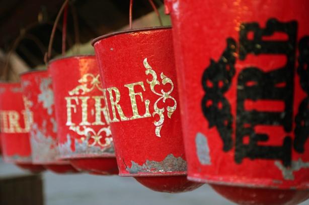 Fire - Bucket Mike-Hope