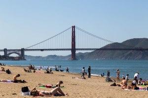 Golden Gate Shoreline Beach