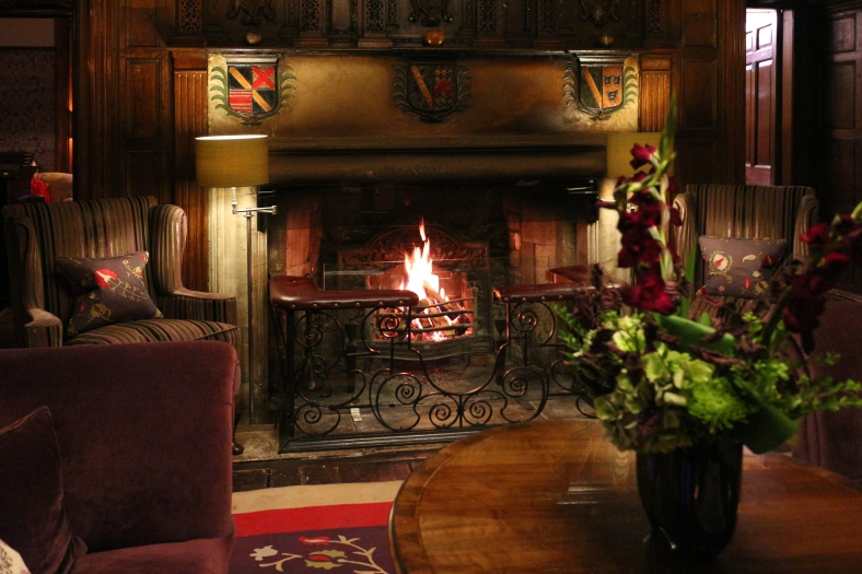 The Manor fireplace by Mike-Hope