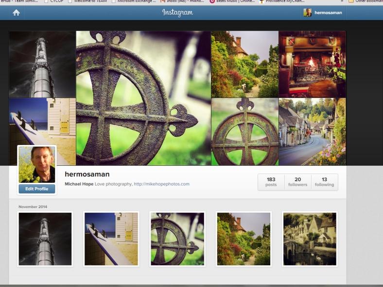 Mike Hope on Instagram