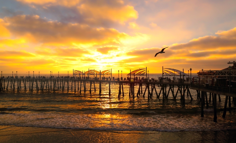 Redondo Sunset by Mike Hope