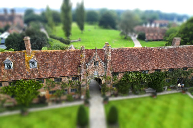 Tilt-Shift at Sissinghurst