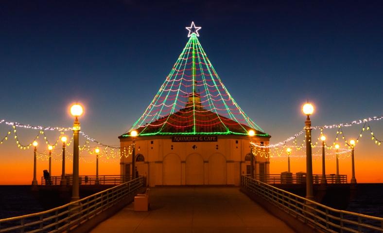 Manhattan-Pier-Lights-CU-by-Mike-Hope