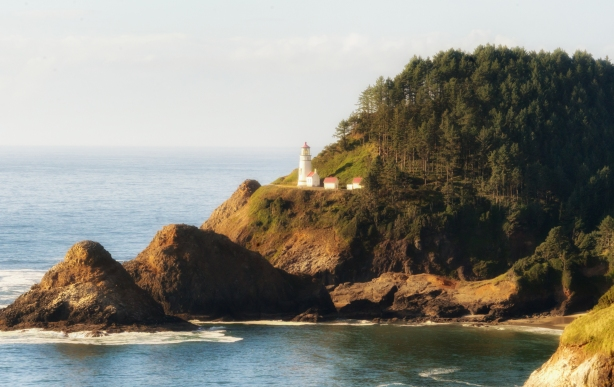 500px Photo ID: 172532455 - Lighthouse at Heceta Head near Arch Cape Oregon