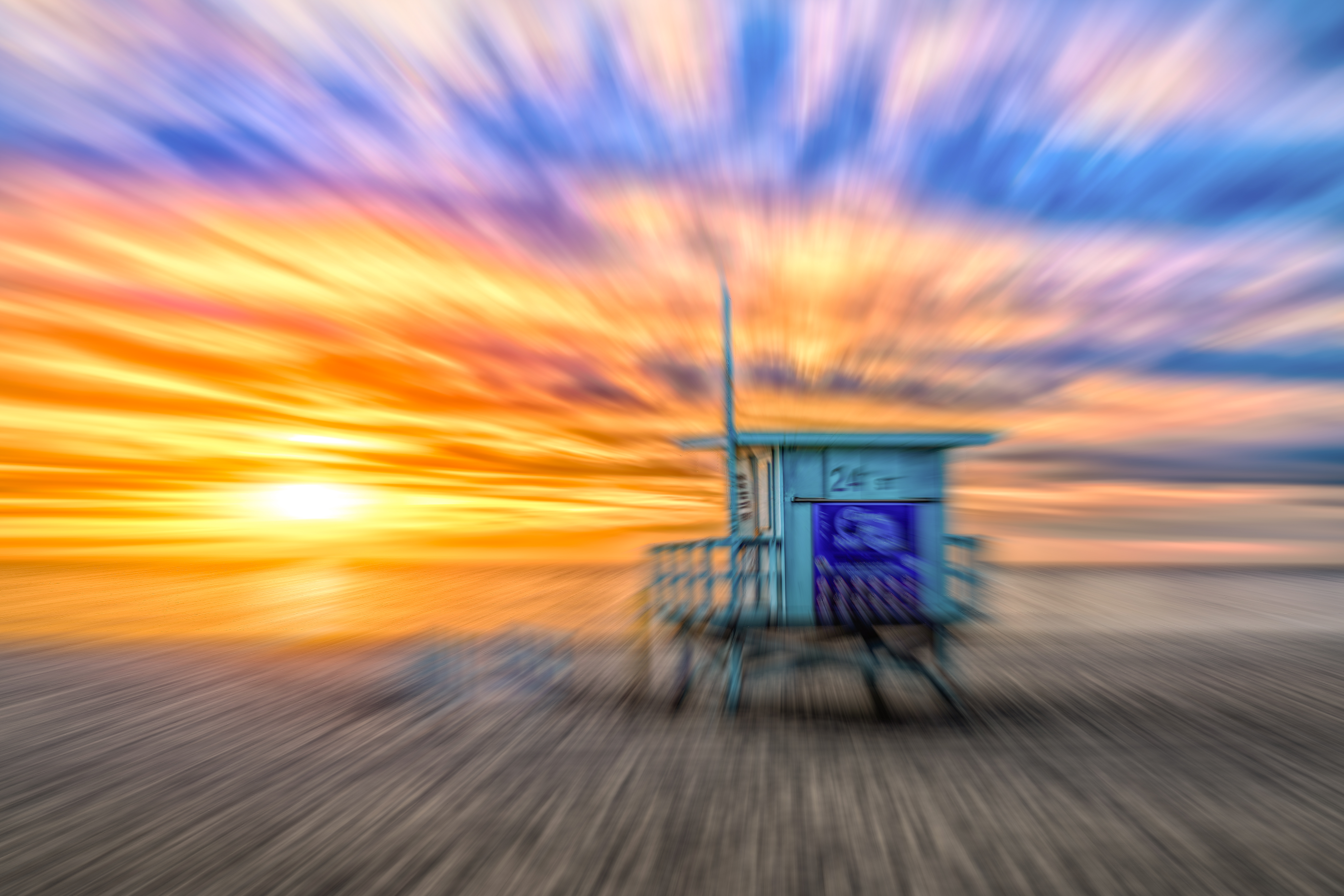 Motion Sun Set by Mike-Hope