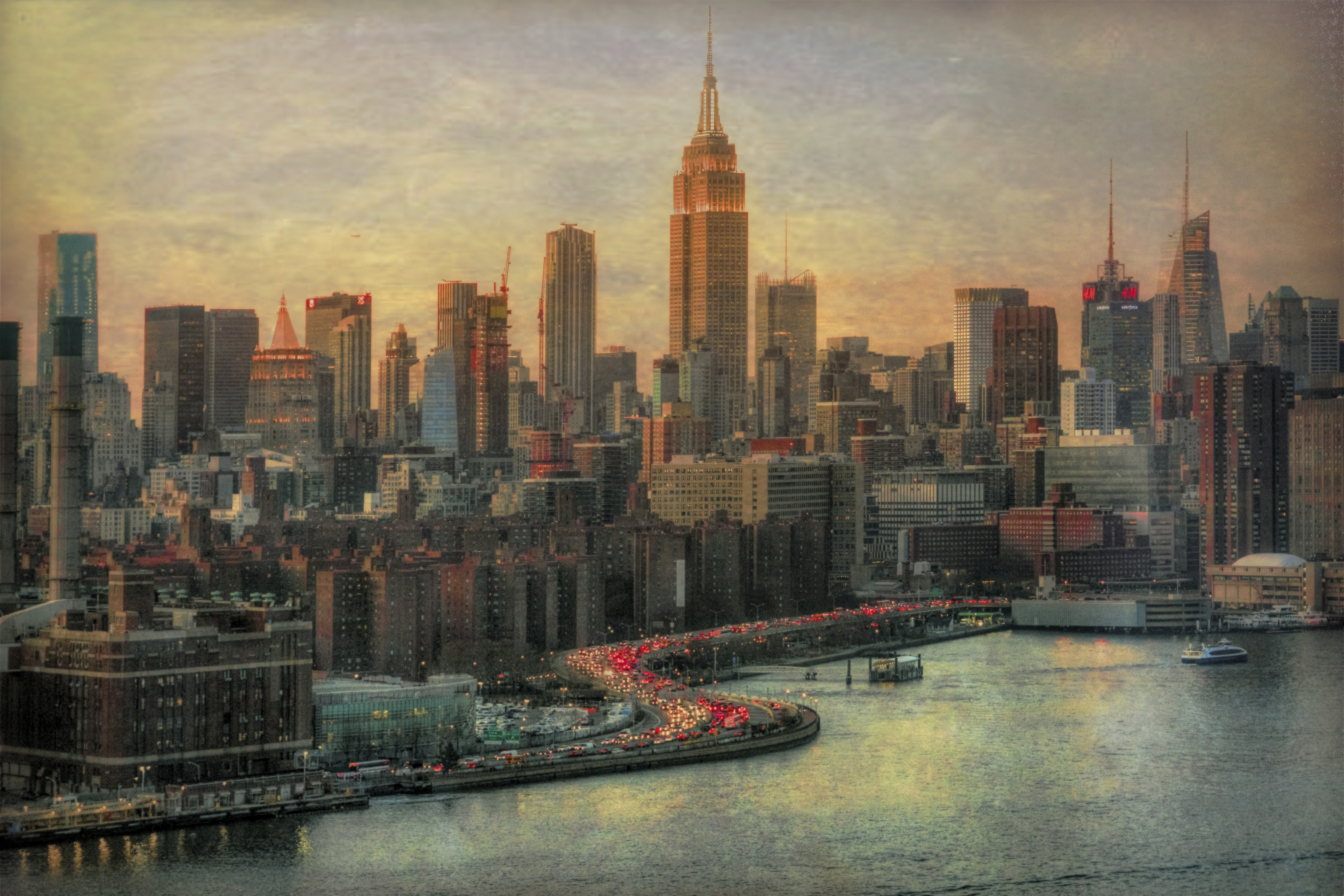 A New York sort of Evening by Mike-Hope